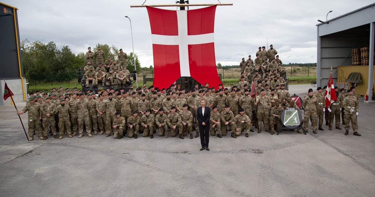 Statsministeren på besøg i Estland
